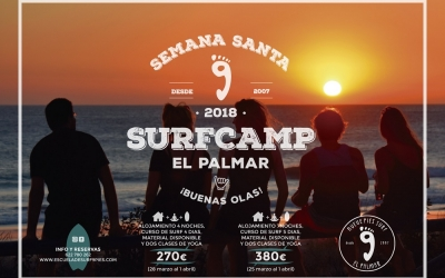 Easter surfcamp 2018