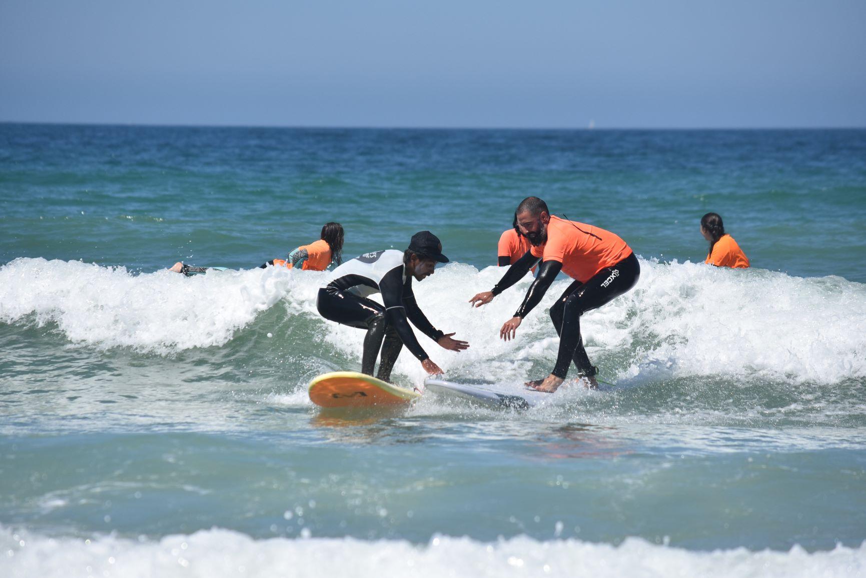 curso de surf el palmar