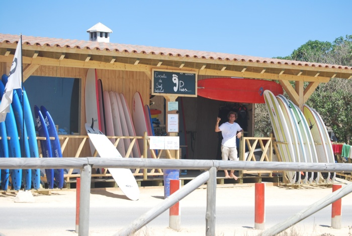 Surf facilities el palmar