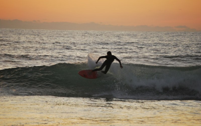 El palmar sunset surf