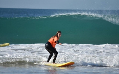 curso de surf en el palmar en verano