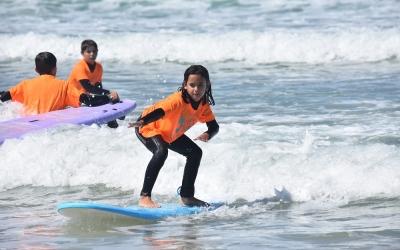 curso de surf niños
