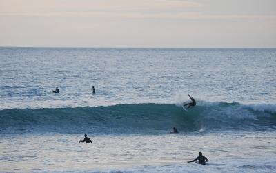 un buen dia de olas
