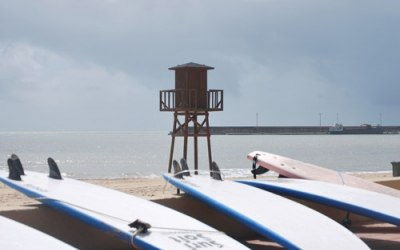 Barbate, ciudad del surf