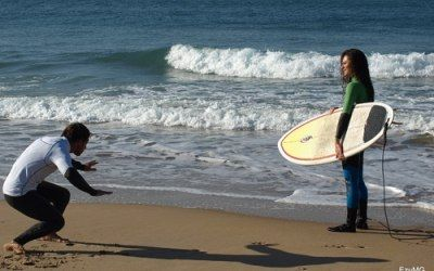 Individual surf lesson
