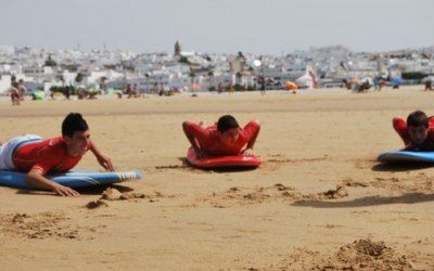 Conil surf lessons