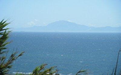 Vista de Marruecos desde el Parque Natural del Estrecho