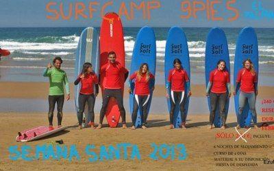 Oferta campamento de surf