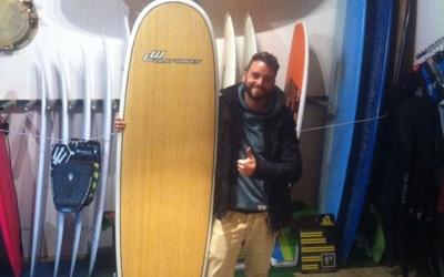 intermediate surfboard